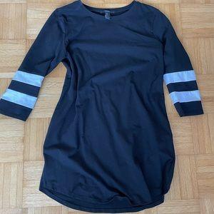 Forever 21 Black Varsity Dress